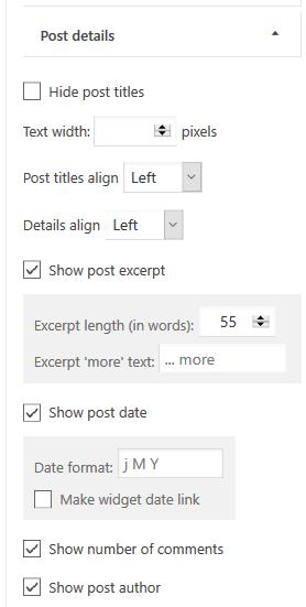 Widgets ‹ test 4.6 — WordPress