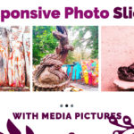 Responsive image slider media pictures