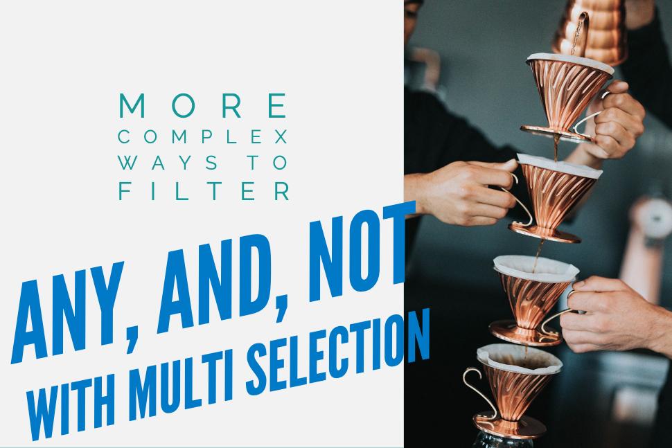 complex filter operators
