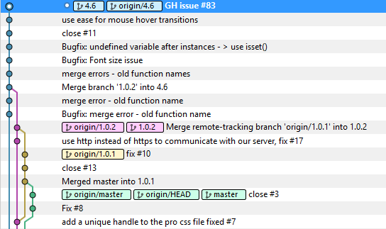 Our new version scheme with Git