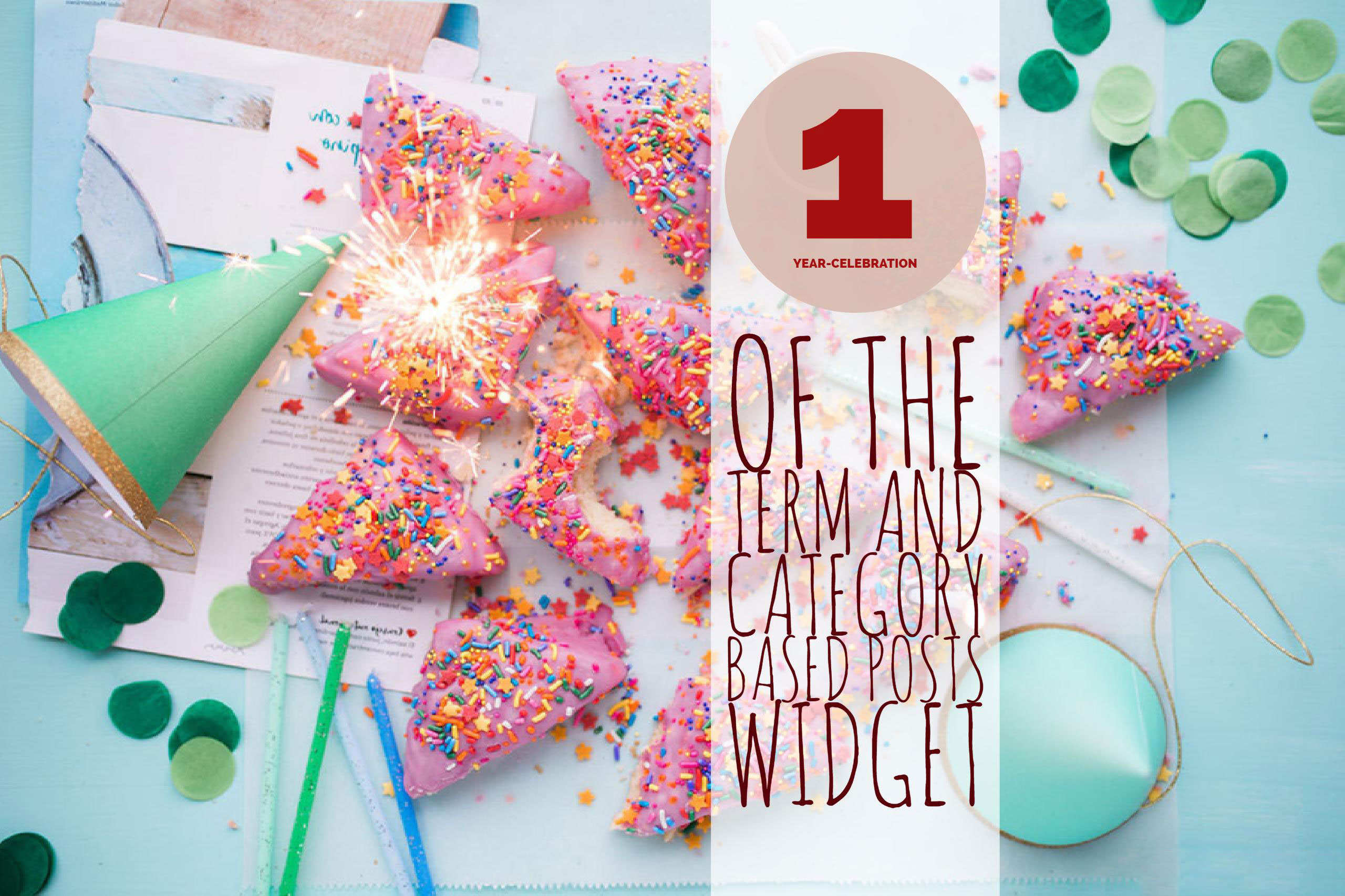 We celebrate Term and Category based Posts Widget birthday