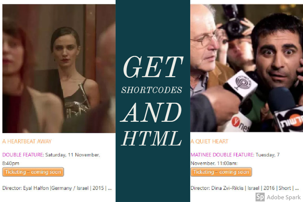 get-show-shortcodes-and-html